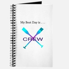 Best Day Rowing Crew Gifts Journal