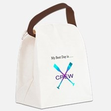 Best Day Rowing Crew Gifts Canvas Lunch Bag