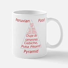 Peruvian Food Pyramid Mug