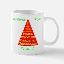 Suriname Food Pyramid Mug