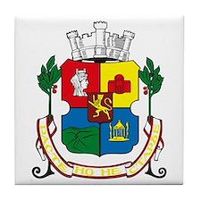Sofia Coat of Arms Tile Coaster