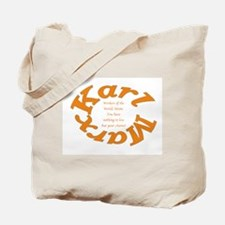 Karl Marx: Workers Of The World Unite! Tote Bag