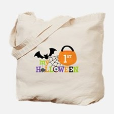 My 1st Halloween (scary) Tote Bag