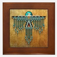 Native american framed art tiles buy native american for Native american tile designs