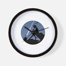 Pan Pipes - Perseids Wall Clock