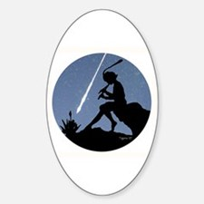 Pan Pipes - Perseids Oval Decal