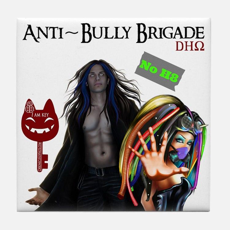 Anti Bully Brigade ~ Dhorigins Tile Coaster