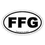 FFG Oval Euro Sticker