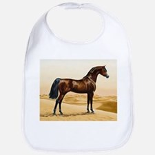 Vintage Arabian Horse Painting by William Barr Bib