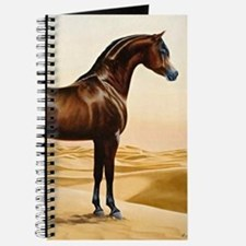 Vintage Arabian Horse Painting by William Journal