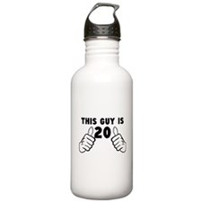This Guy Is 20 Water Bottle