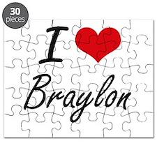 I Love Braylon Puzzle