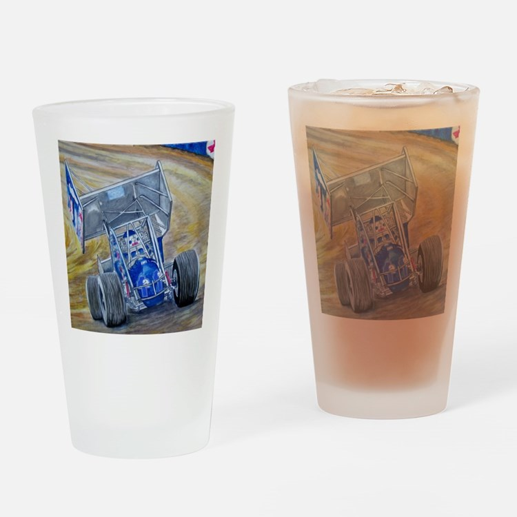 Sideways Drinking Glass
