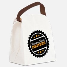 Cute Team handball Canvas Lunch Bag