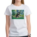Bridge-Aussie Shep - Tri (L) Women's T-Shirt