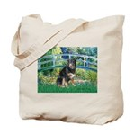 Bridge-Aussie Shep - Tri (L) Tote Bag