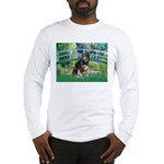 Bridge-Aussie Shep - Tri (L) Long Sleeve T-Shirt