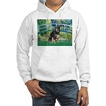 Bridge-Aussie Shep - Tri (L) Hooded Sweatshirt
