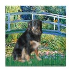 Bridge-Aussie Shep - Tri (L) Tile Coaster
