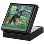 Bridge-Aussie Shep - Tri (L) Keepsake Box