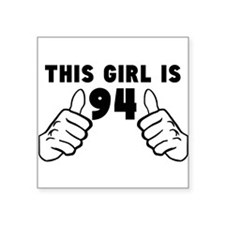 This Girl Is 94 Sticker