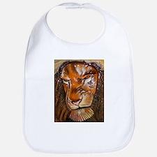 lion pop-out Bib