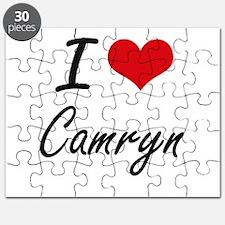 I Love Camryn Puzzle