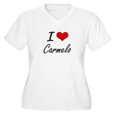 I Love Carmelo Plus Size T-Shirt