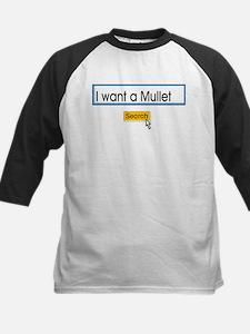 Mullet Kids Baseball Jersey