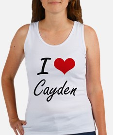 I Love Cayden Tank Top