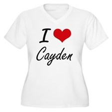I Love Cayden Plus Size T-Shirt