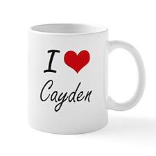 I Love Cayden Mugs