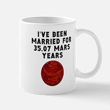 66th Anniversary Mars Years Mugs