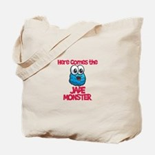 Jade Monster Tote Bag