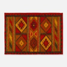 Indian Blanket 5 5'x7'area Rug