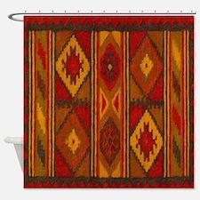 Indian Blanket 5 Shower Curtain