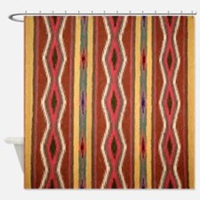 Indian Blanket 3 Shower Curtain
