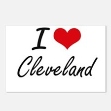 I Love Cleveland Postcards (Package of 8)