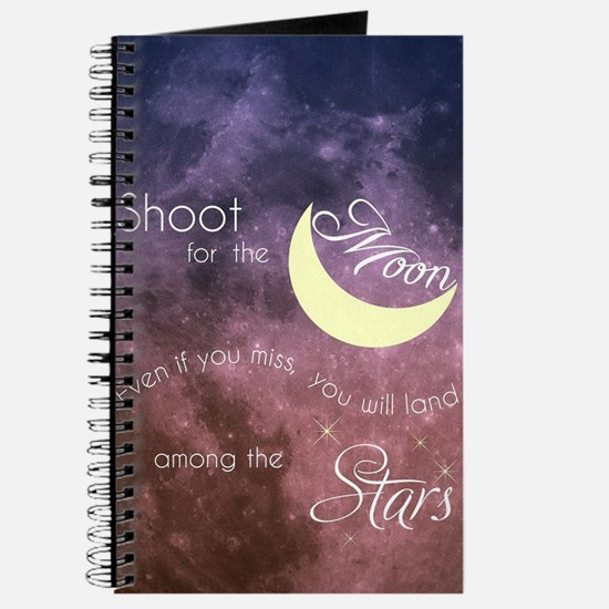 Motivational Les Brown Shoot for the Moon Journal