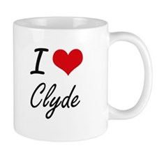 I Love Clyde Mugs