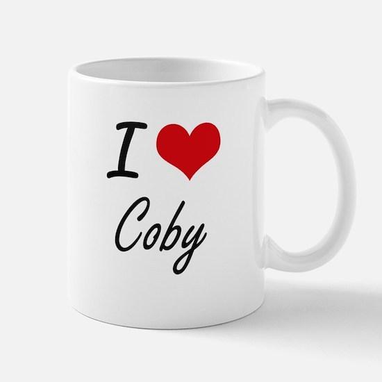 I Love Coby Mugs