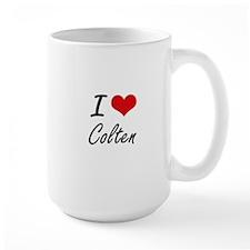 I Love Colten Mugs