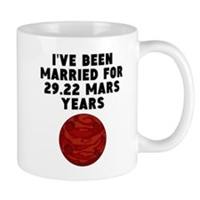 55th Anniversary Mars Years Mugs