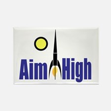 Aim High Rectangle Magnet