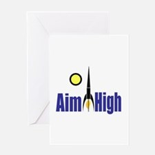 Aim High Greeting Card