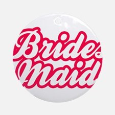 Brides Maid Round Ornament