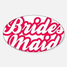 Brides Maid Decal