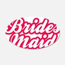 Brides Maid Wall Decal