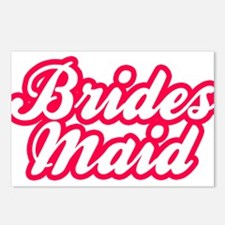 Brides Maid Postcards (Package of 8)