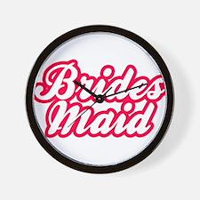 Brides Maid Wall Clock